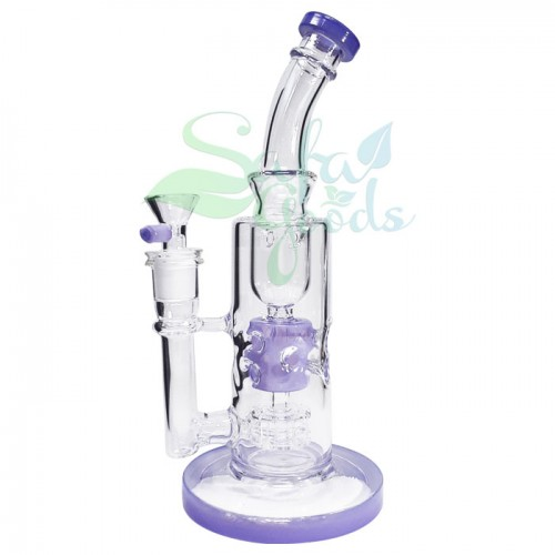 9 Inch Swiss Perc Water Pipe