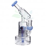 7.4 Inch Lookah Recycler Microscope Rig Water Pipe