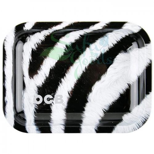 OCB Rolling Tray: Zebra