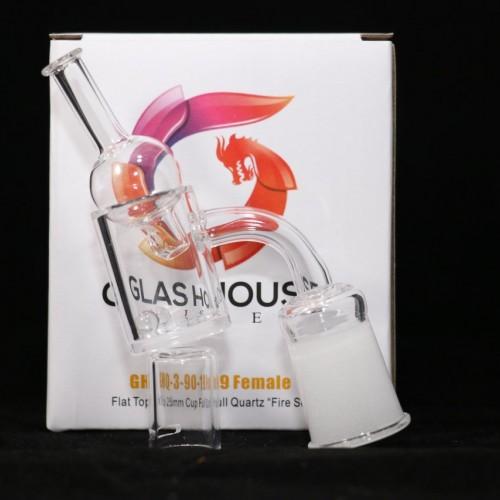 Glashouse Flat Top Quartz Banger Kit