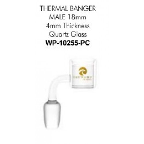 Tsunami - 18-mm Male Thermal Banger for Glass Water Pipes