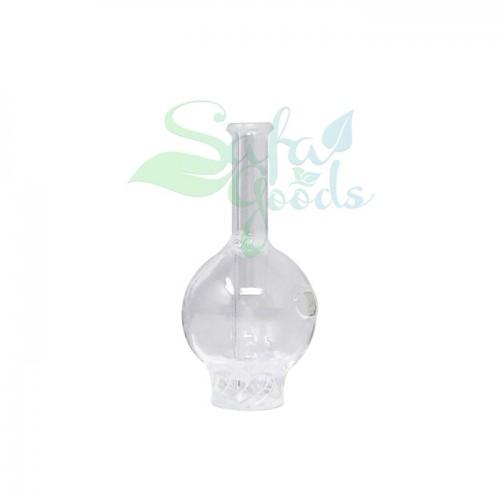 Glass Carb Cap - Tornado Spinner (Long Neck)