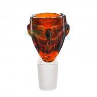 Glass Skull Bowls