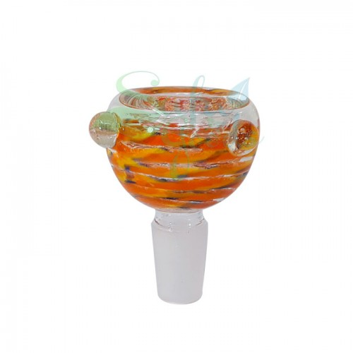 Glass on Glass Slide Bowl 14mm
