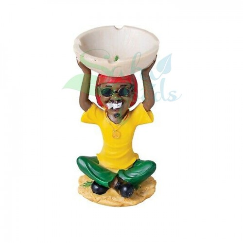 Rasta Sculpture Ashtray - Zen