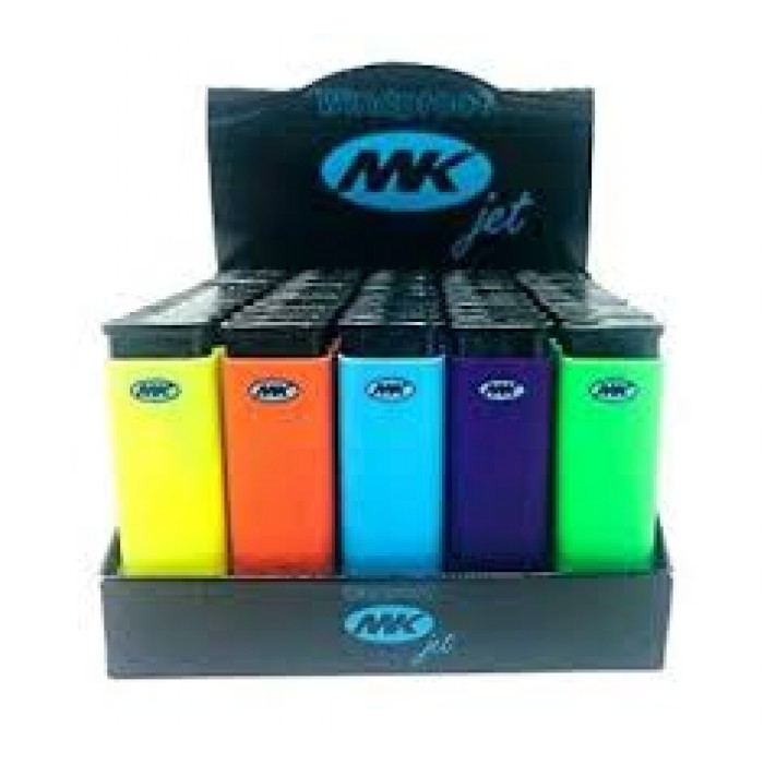 MK JET Color Lighters | Full Sized, Premium Disposable Lighters