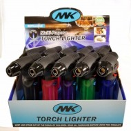 MK Windproof Pistol-Grip Torch Lighters - 10pc