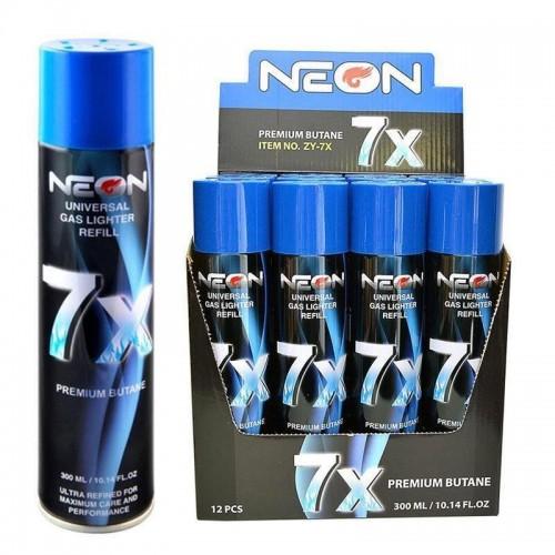 Neon 7x Refined Butane 12CT Case