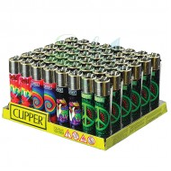 Clipper Butane Lighters 48ct Display Box