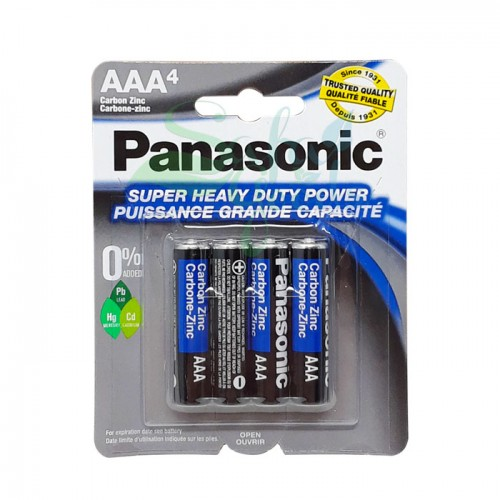 Panasonic Super Heavy Duty Battery - 4PK