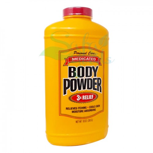Personal Care Medicated Body Powder