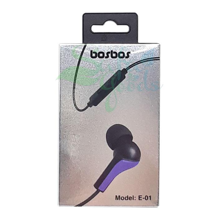 Bosbos E-01 Earphones