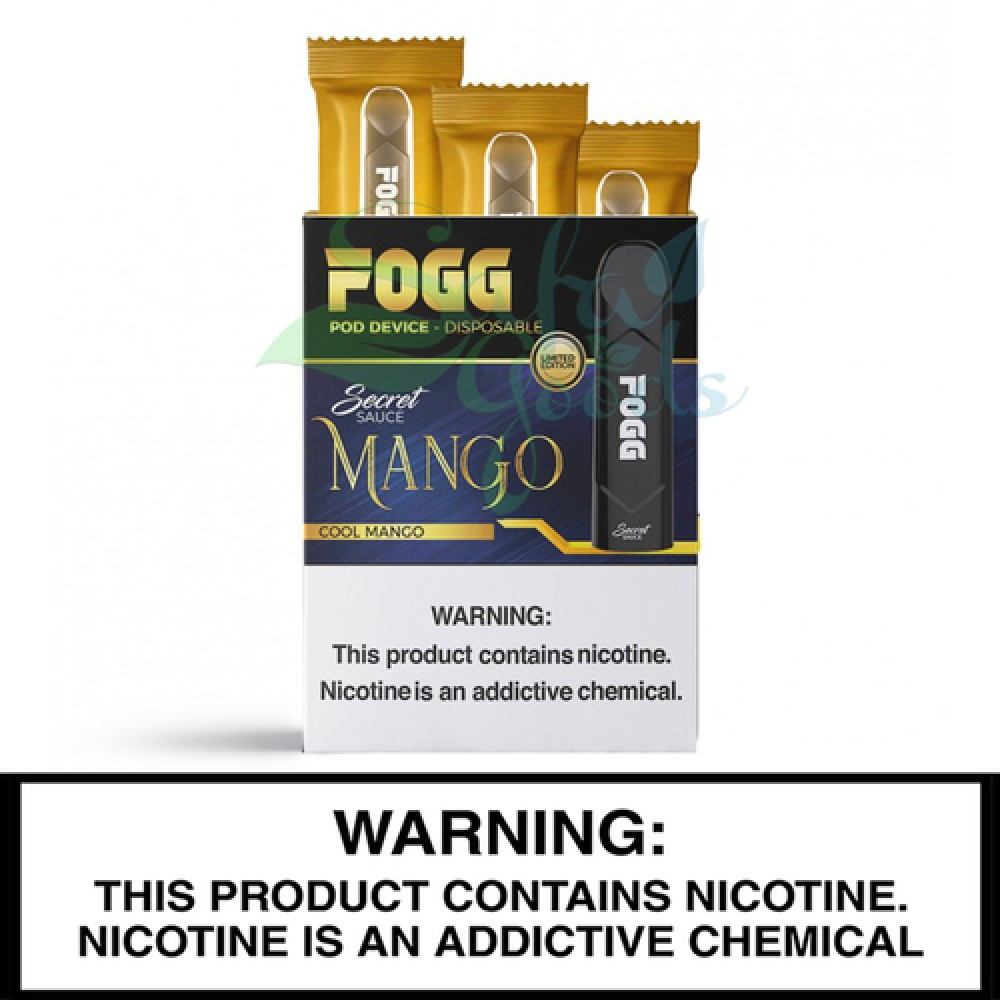 Fogg Disposable Vape Device - Pack of 3