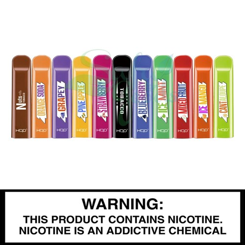 HQD Cuvie V1 Disposable Vape Device - 10pc Box