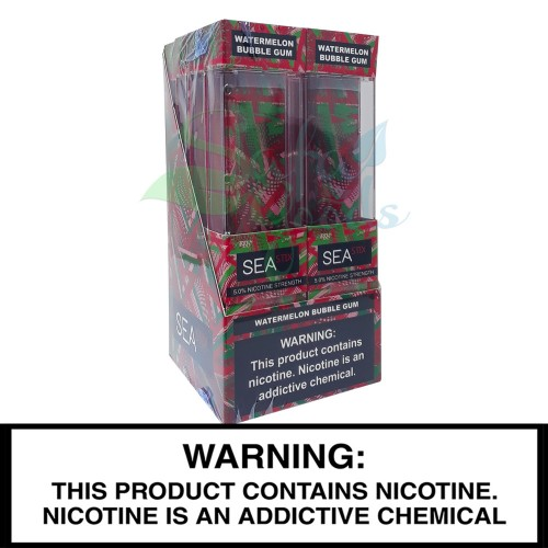 Sea Stix Disposable Vape Device - Box of 8 Units