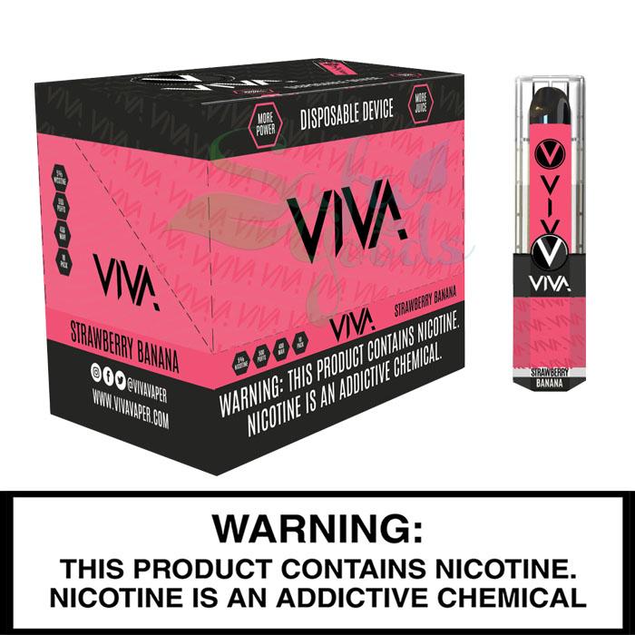 Viva Disposables Vape Devices - 10PC