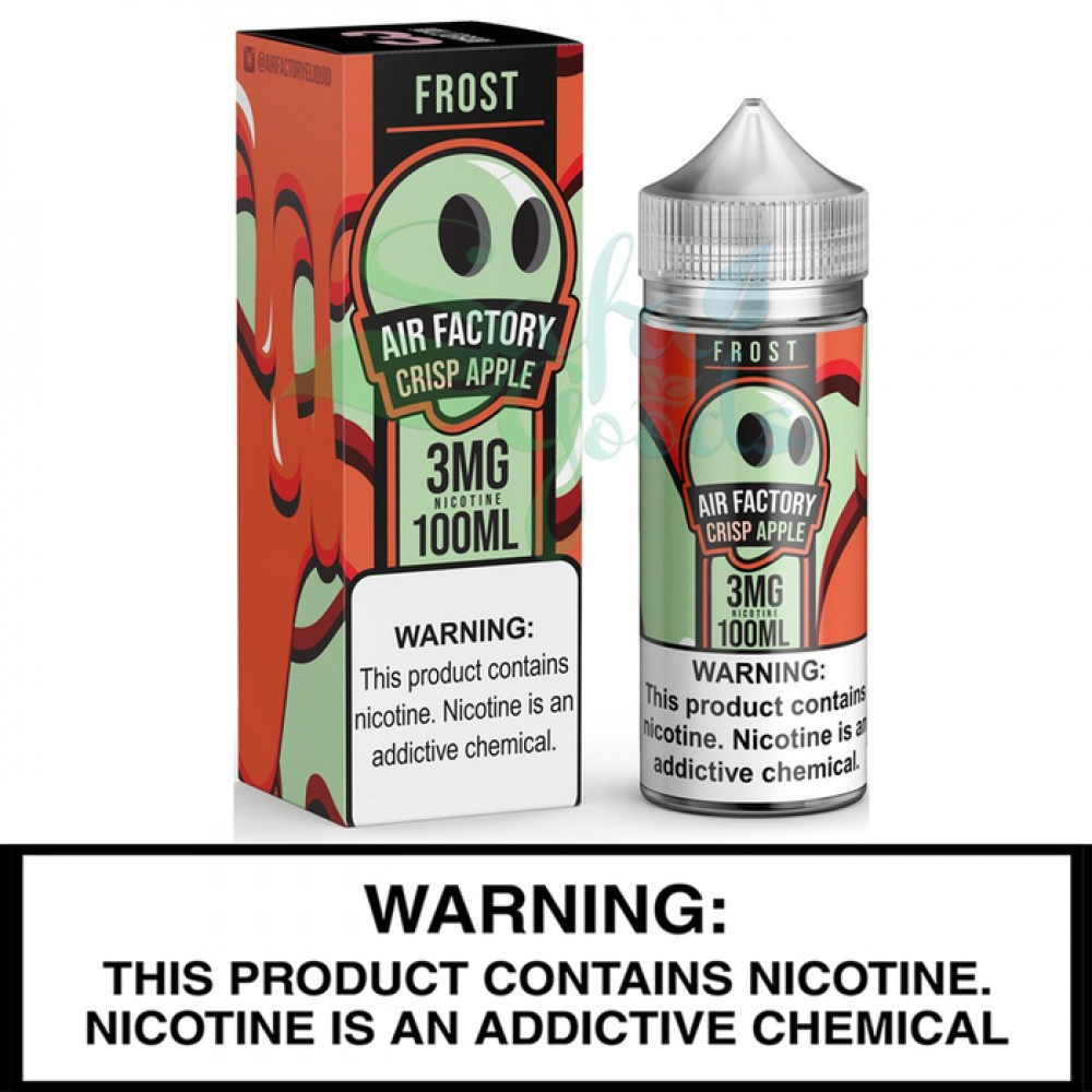Air Factory | Frost | 100mL Freebase Bottles