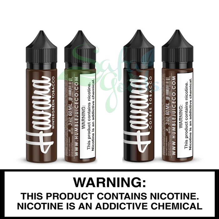 Humble Juice Co. | Havana Tobacco | 60ML Freebase Bottles
