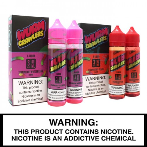 Wurm Crawlers E-Liquid | 2 x 60mL Freebase Bottles