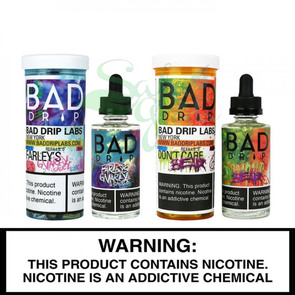 Bad Drip Labs | 60mL Freebase Bottles