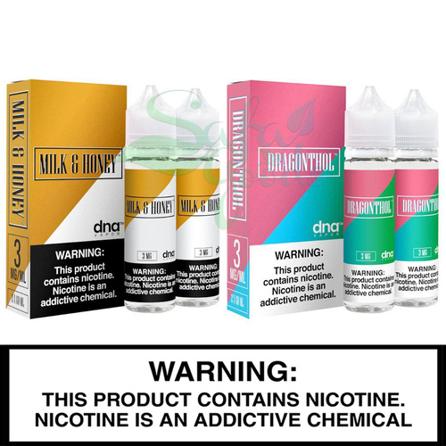 DNA Vapor | 2 x 60ml Freebase Bottles