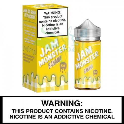 MonsterVape Labs | Jam Monster | 100mL Freebase Bottles