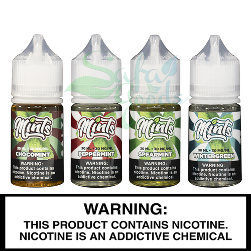 The Mints Collection by Verdict Vapor - 30mL Salt-Nic E-liquid