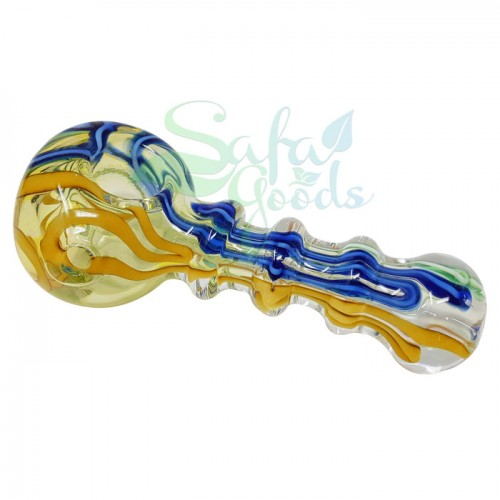 3.5 in. Handpipe with Fume/Linework/Three Marias 2PC Bundle