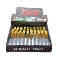 Metal Cigarette One Hitter w/ Eject 50ct