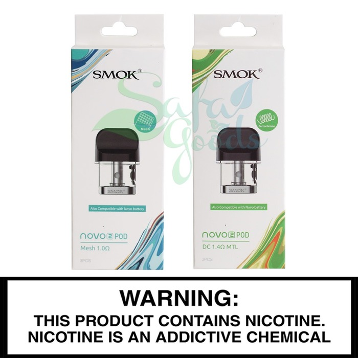 SMOK Novo 2 Replacement Pods - 3 Pack