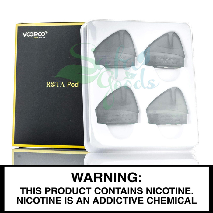 VooPoo ROTA Replacement Pods - 4PC