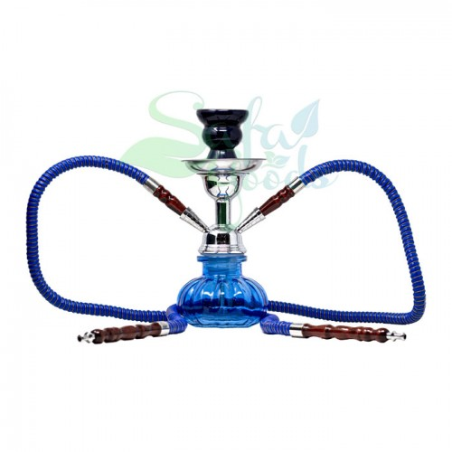 10 Inch Two Hose Hookahs