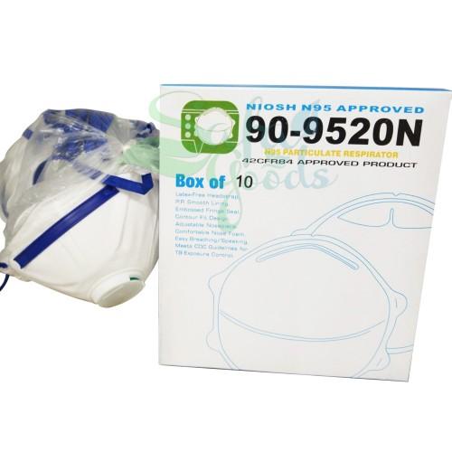 Face Masks - 90-9520N -10PC - Box
