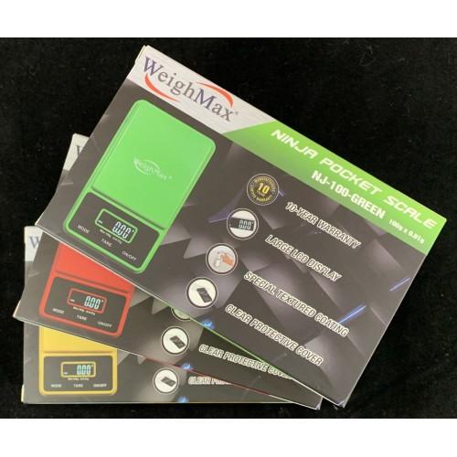 Ninja - Digital Pocket Scale - WeighMax Scale 0.01g (NJ-100)
