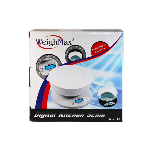 WeighMax Digital Kitchen Scale (W-2810)