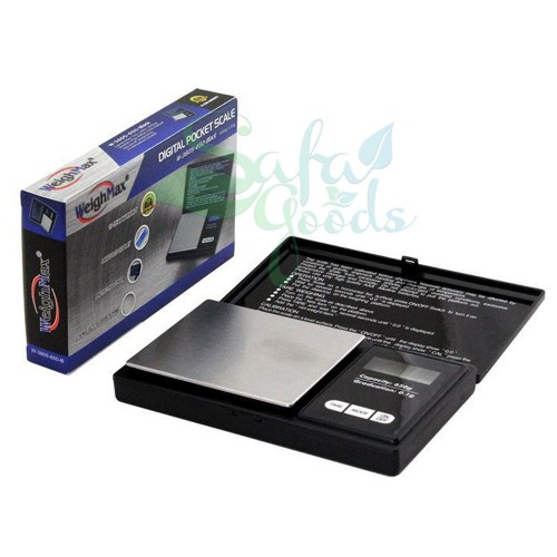 Digital Scale - WeighMax Scale W-3805-650 Black