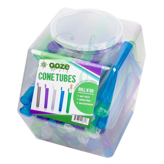 Ooze Cone Tubes Display Jar 100ct