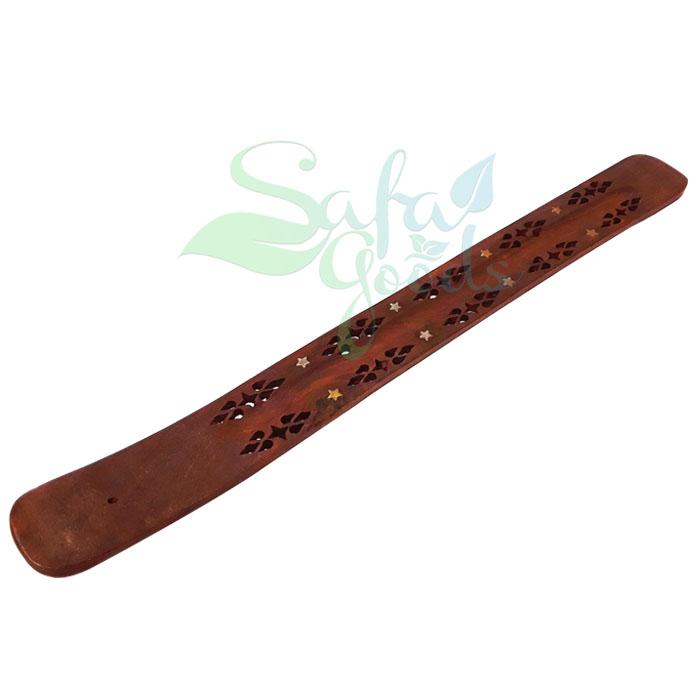 Flat Wooden Incense Holder