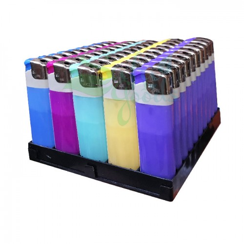 Pastel Disposable Butane Lighters 50ct Box