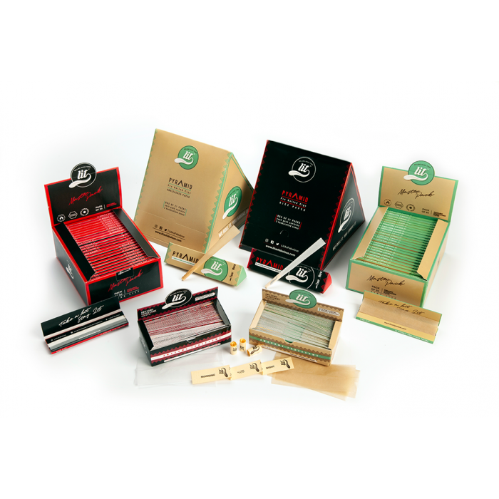 LIT Rolling Papers Display Box