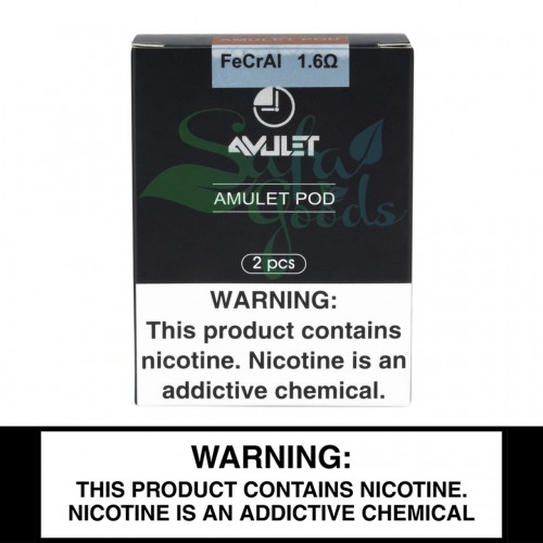 Uwell Amulet Pod System - Replacement 1.6Ω Pods - 2mL