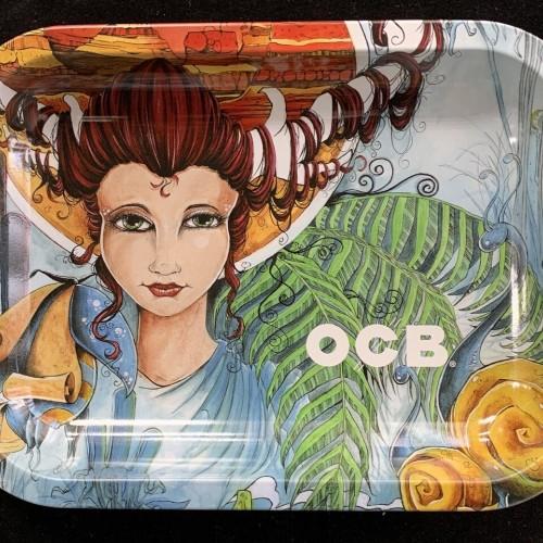 OCB Rolling Tray: Girl
