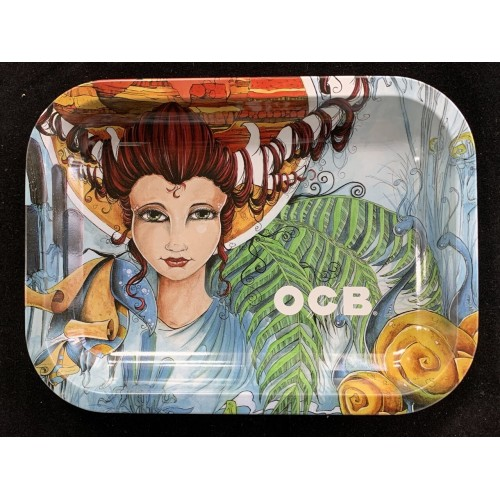 OCB Rolling Tray: Girl