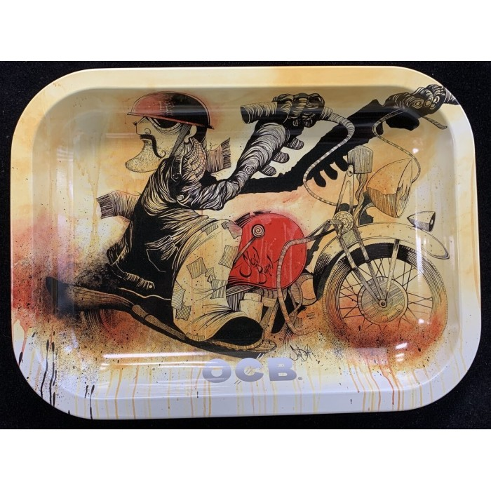 OCB Rolling Tray: Motorcycle