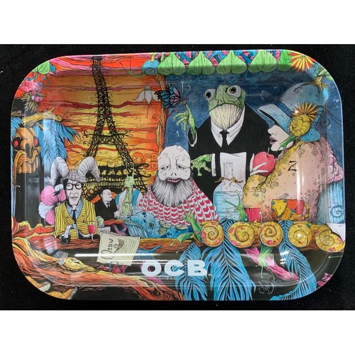 OCB Rolling Tray: Paris