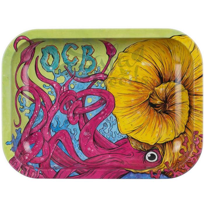 OCB Rolling Tray: Cephalopod