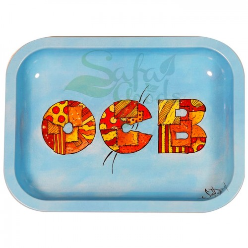 OCB Rolling Tray: Patchwork