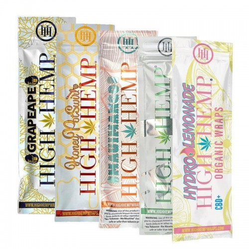 High Hemp Organic Hemp Wraps Display