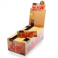 RAW Classic Single Wide Rolling Papers - Box