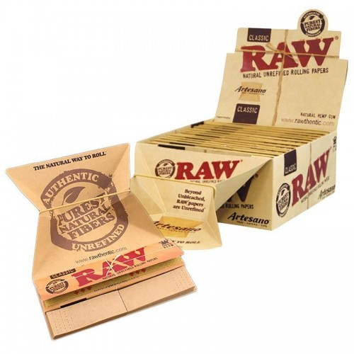 Raw Classic Artesano - Rolling Papers - Box